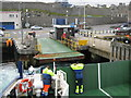HU4741 : Bressay ferry, LEIRNA, arriving at Lerwick by Mark Stockdale
