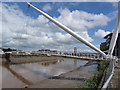 ST3188 : Newport City Footbridge over River Usk by Colin Park