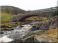 SN8663 : Bridge and river (Afon) below Claerwen Dam : Week 1