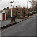 ST3093 : Old-style lamp post, Crown Road, Cwmbran by John Grayson