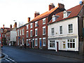 SK5878 : Worksop - houses on north side of Potter Street by Dave Bevis