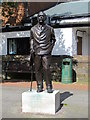 TQ5131 : Statue of Sir Arthur Conan Doyle, Crowborough Cross (2) by Mike Quinn