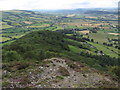 SJ2812 : The southwest ridge from Moel y Golfa near Welshpool by Colin Park