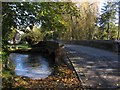 SP1007 : River bridge over River Coln at Ablington by Colin Park