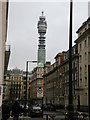 TQ2881 : BT Tower seen from Weymouth Street by Keith Edkins