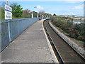SW5436 : Lelant Saltings railway station, Cornwall by Nigel Thompson