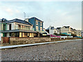 TR2035 : Seafront houses, Sandgate by Robin Webster