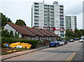 ST5377 : Bungalows and highrise flats, Shirehampton, Bristol by John Grayson