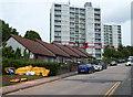ST5377 : Bungalows and highrise flats, Shirehampton, Bristol by Jaggery