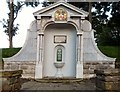 SD3129 : Ashton Gardens drinking fountain by Gerald England
