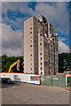 TQ4768 : Alkham Tower demolition by Ian Capper