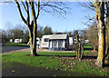 SP0101 : Cirencester Caravan Club site by Dennis Turner