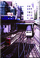 TQ3381 : Railway junction at Aldgate by Malc McDonald