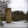 SD7706 : Sculpture at Outwood by David Dixon