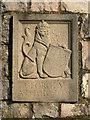 SX9272 : St George's Field entrance heraldic panel: lion by Robin Stott