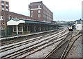 ST3188 : Newport (Gwent) railway station by Nigel Thompson
