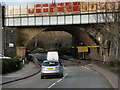 SP0887 : Railway Bridge, Lawley Middleway (A4540) by David Dixon