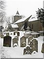 TQ3009 : All Saints church, Patcham by Simon Carey