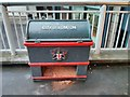 TQ3281 : City of London Grit Bin by PAUL FARMER