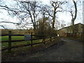 TQ4163 : The entrance to Fox Hill Farm on Jackass Lane by David Howard