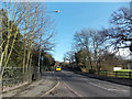 TQ3473 : View along Dulwich Common from outside the entrance to Dulwich Park by Robert Lamb