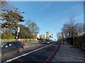 TQ3473 : View of the Horniman Museum from London Road by Robert Lamb