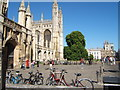 TL4458 : King's College, Cambridge by Barbara Carr