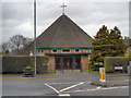SJ5894 : St David's Catholic Church, Wargrave by David Dixon