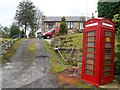 SJ9890 : Telephone box being used as a domestic letter box by Anthony Parkes
