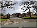 SJ3869 : Entrance to The Oaks at Mollington by Jeff Buck