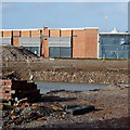 SO9197 : Building site at Blakenhall, Wolverhampton by Roger  Kidd