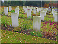 SU3646 : Andover - Commonwealth War Graves   by Chris Talbot