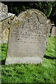SO6750 : Gravestone in Acton Beauchamp churchyard by Philip Halling