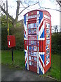 TQ5961 : A new use for an old telephone kiosk by Ian Yarham