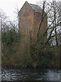 SD3078 : Accumulator tower by the Ulverston Canal by Karl and Ali