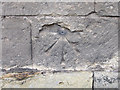 TA0558 : Bench mark and bolt on All Saints, Nafferton by John S Turner