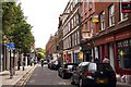TQ3381 : Looking east along Hanbury Street by Steve Daniels