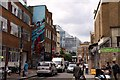 TQ3381 : Mural in Hanbury Street by Steve Daniels