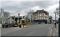 TQ3172 : West Norwood Station and the Norwood Hotel, Knight's Hill by Stephen Richards