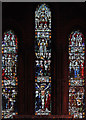 TQ3190 : St Mark, Noel Park - Stained glass window by John Salmon