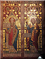 TQ3190 : St Mark, Noel Park - Reredos detail by John Salmon