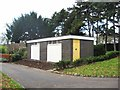 SO8275 : Public convenience, Brinton Park, Sutton Road, Kidderminster by P L Chadwick