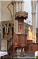 TQ2883 : St Michael, Camden Road - Pulpit by John Salmon