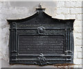 TQ2883 : St Michael, Camden Road - Wall memorial by John Salmon