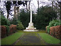 SK4599 : War Memorial, Swinton by JThomas