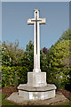 TQ4666 : War Memorial, Canadian Corner, Orpington Cemetery by Ian Capper