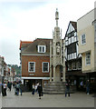 SU4829 : The City Cross, or Butter Cross, Winchester by Caroline Tandy