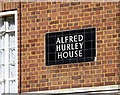 TQ2671 : Detail of Alfred Hurley House, Blackshaw Road by Stephen Richards