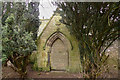 NO1403 : Mausoleum in Old Orwell churchyard by Rob Burke