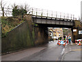 TQ3060 : Railway over Old Lodge Lane (1) by Stephen Craven